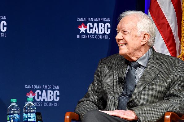 Former「The Board of Directors of the Canadian American Business Council Presents A Converation With Jimmy Carter and Joe Clark」:写真・画像(7)[壁紙.com]
