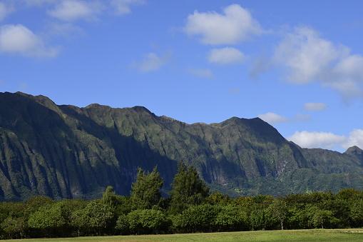 コオラウ山脈「Koolau Mountain Range, Oahu, Hawaii.」:スマホ壁紙(12)