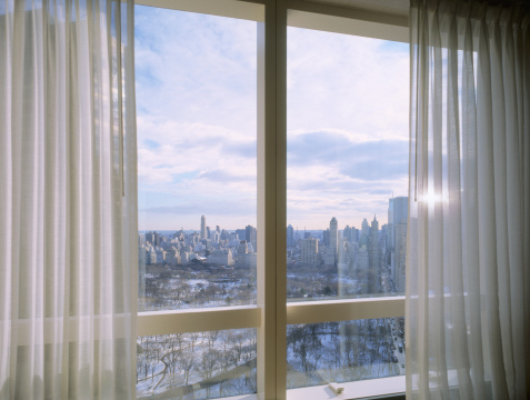 Mid-Atlantic - USA「Window with view of a snow covered Central Park」:スマホ壁紙(14)