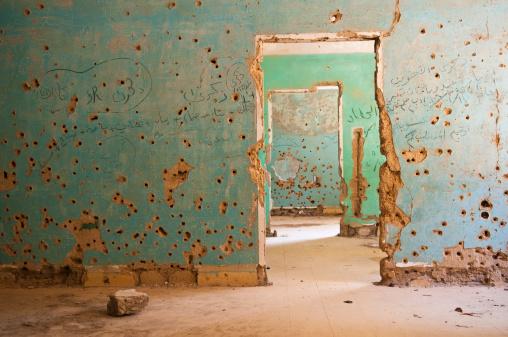 Demolished「Bullet-riddled rooms in Quneitra, Syria」:スマホ壁紙(17)