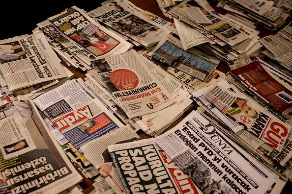 Paper「Work Continues at Cumhuriyet Newspaper Ahead of Journalists Trial」:写真・画像(9)[壁紙.com]