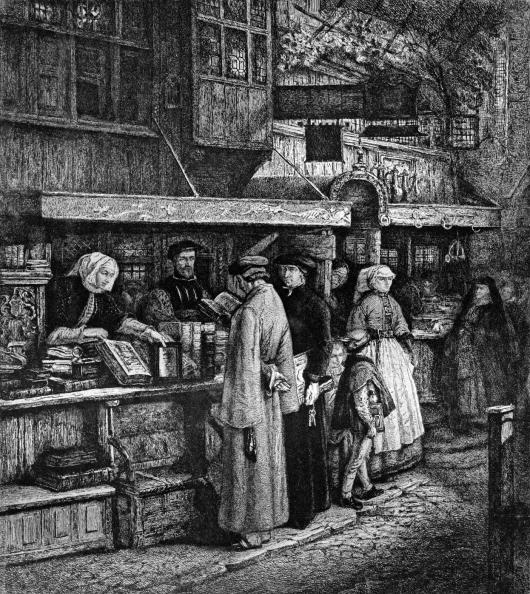 Renaissance「Bookseller in Antwerp」:写真・画像(8)[壁紙.com]