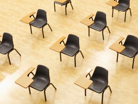 Southern Africa「Desks in empty classroom」:スマホ壁紙(16)