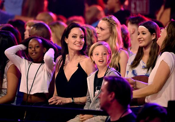 アンジェリーナ・ジョリー「Nickelodeon's 28th Annual Kids' Choice Awards - Show」:写真・画像(19)[壁紙.com]