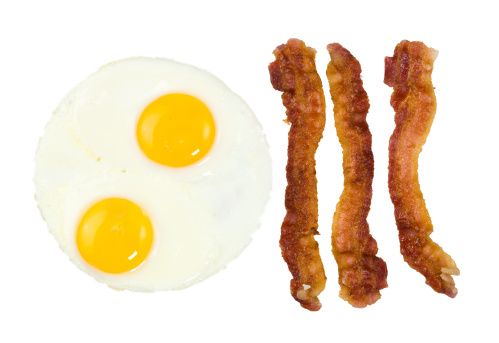Bacon「Fried Bacon strips and two eggs」:スマホ壁紙(17)