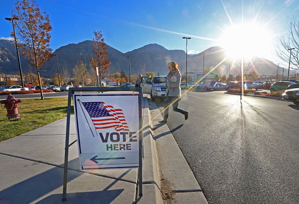 Morning「Voters Across The Country Head To The Polls For The Midterm Elections」:写真・画像(17)[壁紙.com]