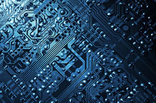 Electronics Industry「Circuit Board Background」:スマホ壁紙(5)