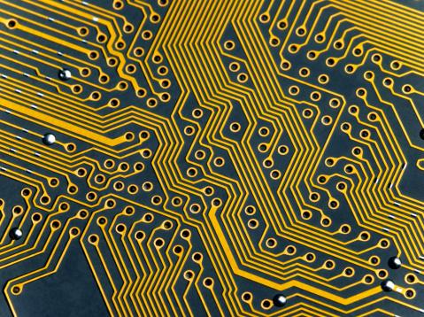 Circuit Board「Circuit board, close-up」:スマホ壁紙(8)