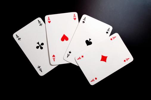 Choice「playing cards, four aces」:スマホ壁紙(12)