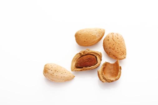 Nut - Food「Almonds, elevated view」:スマホ壁紙(7)