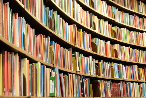 Curve「Books! Library bookshelf」:スマホ壁紙(15)