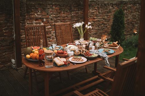 Asparagus「Garden patio with dining set」:スマホ壁紙(13)