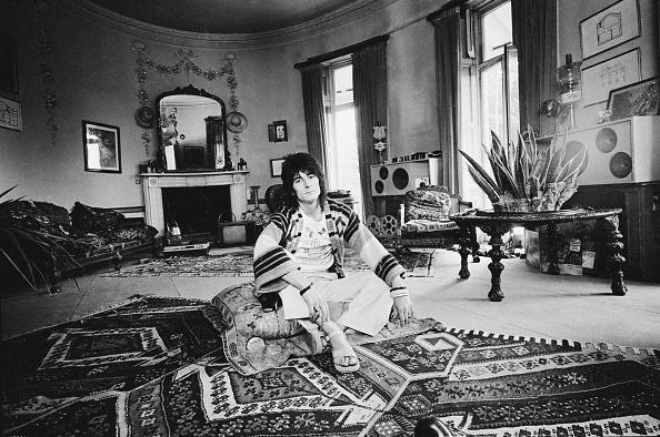 Rug「Ron Wood At Home」:写真・画像(4)[壁紙.com]