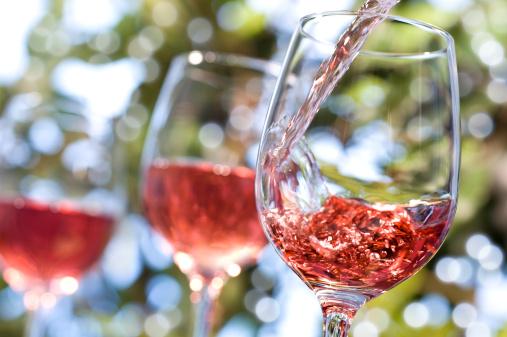 Alcohol - Drink「Rose Wine Alfresco」:スマホ壁紙(15)