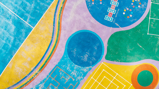 Aerial View「Colorful Playground」:スマホ壁紙(18)