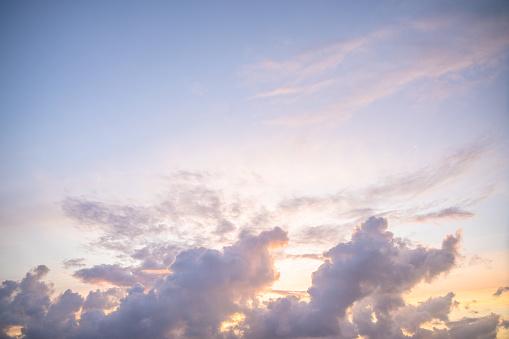 Sunrise - Fort Lauderdale「Clouds on sky at sunset」:スマホ壁紙(14)