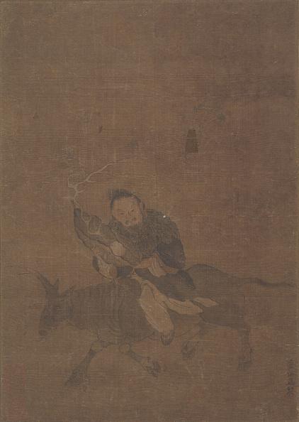 Horned「Daoist Riding Horned Animal. Creator: Tong Renyi.」:写真・画像(13)[壁紙.com]