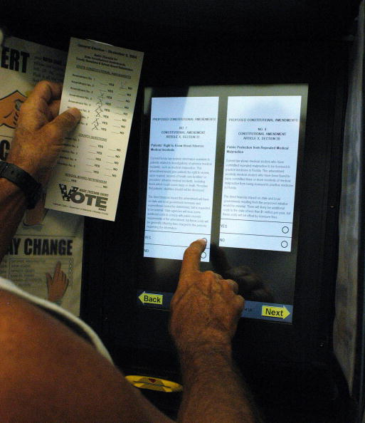 Machinery「Early Voting Begins In Florida」:写真・画像(8)[壁紙.com]