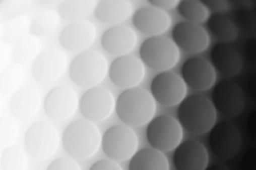 Golf Ball「A close up shot of a golf ball, white and fade to dark gray」:スマホ壁紙(11)