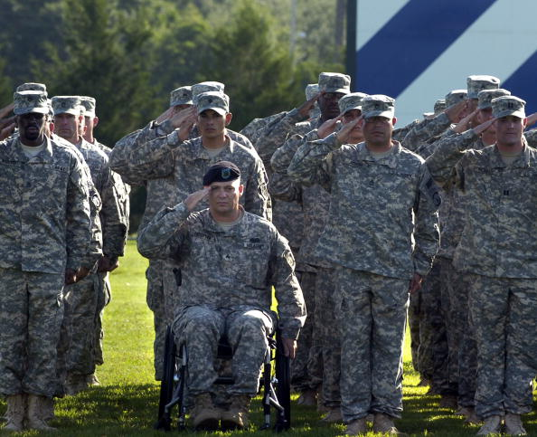 Fort Stewart「Soldiers From The 549th Military Police Company Return From Afghanistan」:写真・画像(9)[壁紙.com]