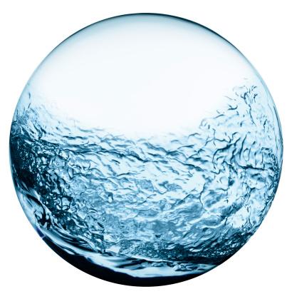 Sphere「Sphere filled with water」:スマホ壁紙(9)