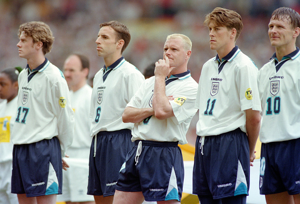 イングランド「England v Switzerland UEFA Euro 96」:写真・画像(11)[壁紙.com]