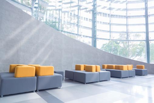 Postmodern「Modern Office Lobby」:スマホ壁紙(18)