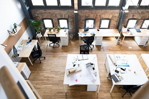 New Business「Modern office interior」:スマホ壁紙(13)