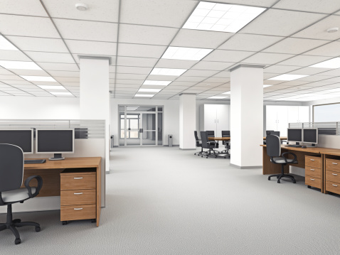 Desktop PC「Modern Office Interior」:スマホ壁紙(14)