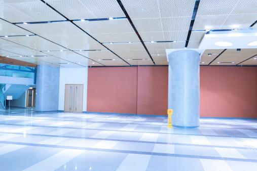 Convention Center「Modern Office Building Lobby」:スマホ壁紙(15)