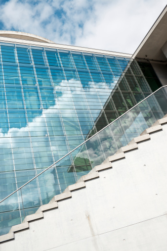 Postmodern「modern office architecture, berlin, germany, europe」:スマホ壁紙(4)