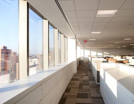 Cityscape「Modern office Space」:スマホ壁紙(8)
