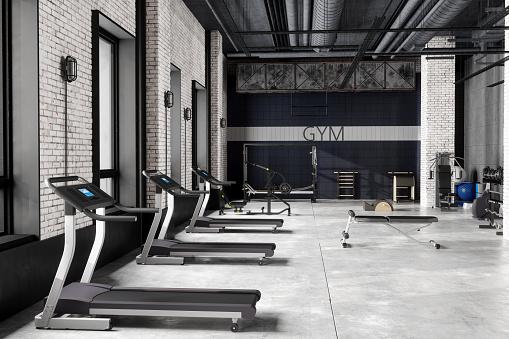 Exercise Room「Modern Luxury GYM Interior」:スマホ壁紙(9)