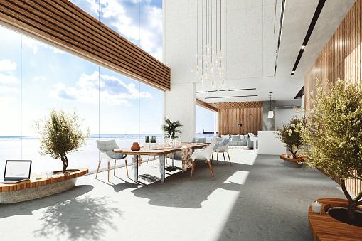 Wide「Modern luxury holiday villa at seaside」:スマホ壁紙(16)