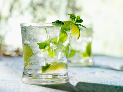 Mint Leaf - Culinary「Mojito with White Rum Mint & Lime」:スマホ壁紙(2)