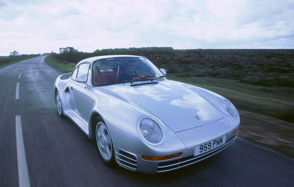 Beaulieu National Motor Museum「1988 Porsche 959」:写真・画像(8)[壁紙.com]