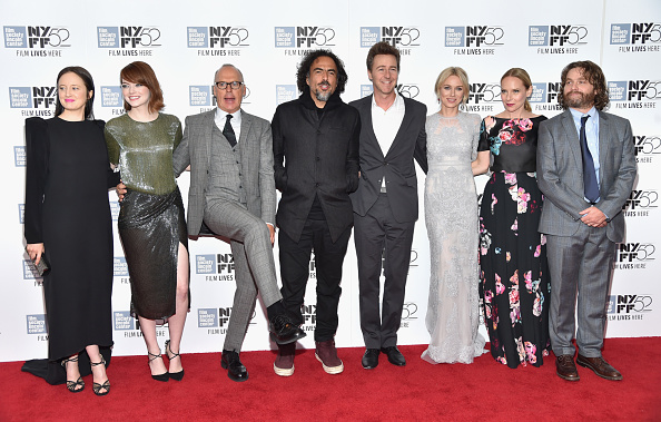 """千秋楽「Closing Night Gala Presentation Of """"Birdman Or The Unexpected Virtue Of Ignorance"""" - Arrivals - 52nd New York Film Festival」:写真・画像(19)[壁紙.com]"""