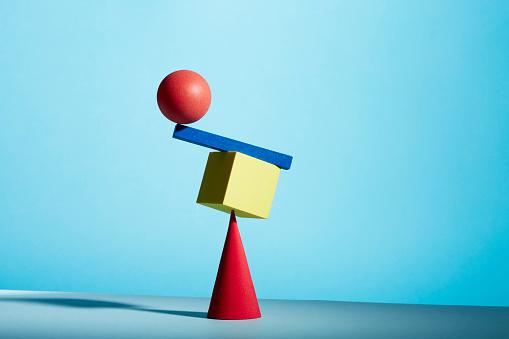 Sphere「Conceptual image of geometric blocks」:スマホ壁紙(5)