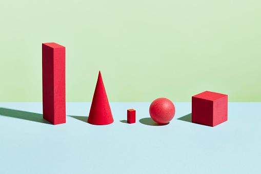 Bone「Conceptual image of geometric blocks」:スマホ壁紙(1)