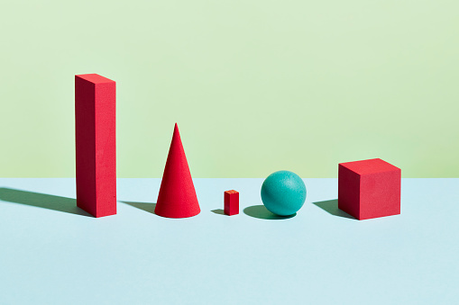 Sphere「Conceptual image of geometric blocks」:スマホ壁紙(3)