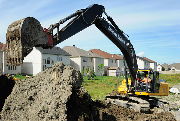 Ottawa「Excavator, digging at residential development, in progress, Ottawa, Ontario, Canada」:写真・画像(19)[壁紙.com]