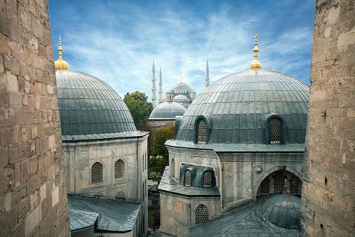 Greek Orthodox「Blue Mosque」:スマホ壁紙(2)