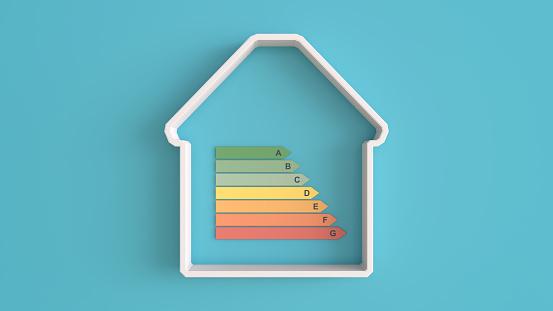 Ecosystem「House Energy efficiency and green energy 3d concept」:スマホ壁紙(13)