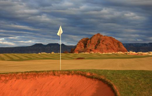 Sand Trap「Desert Golf Green」:スマホ壁紙(7)