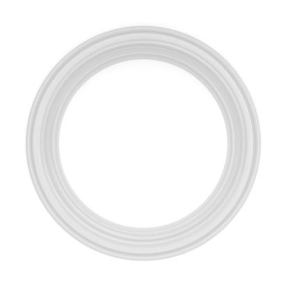 Moulding - Trim「3d white classical frame」:スマホ壁紙(4)
