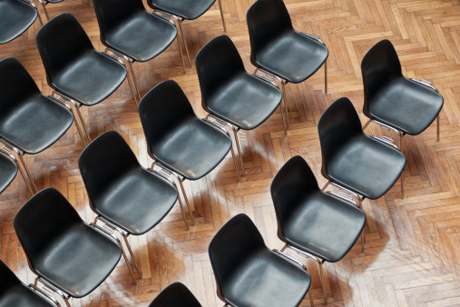 Convention Center「Rows of Chairs Indoors」:スマホ壁紙(19)