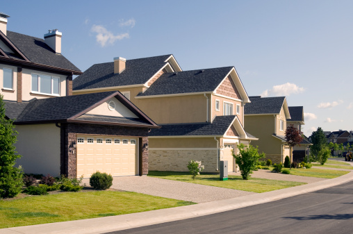 Rooftop「Few suburban houses.」:スマホ壁紙(3)