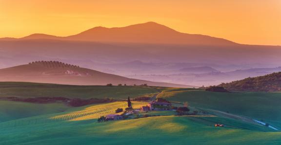 Italian Cypress「Sunrise in Tuscany」:スマホ壁紙(13)