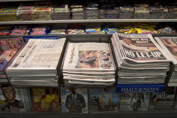 Paper「New York Times To Reduce Size Of Newspaper」:写真・画像(3)[壁紙.com]