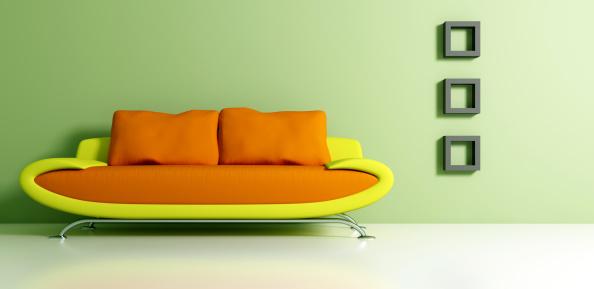 Postmodern「Retro Mod Couch and Interior Decorating」:スマホ壁紙(6)